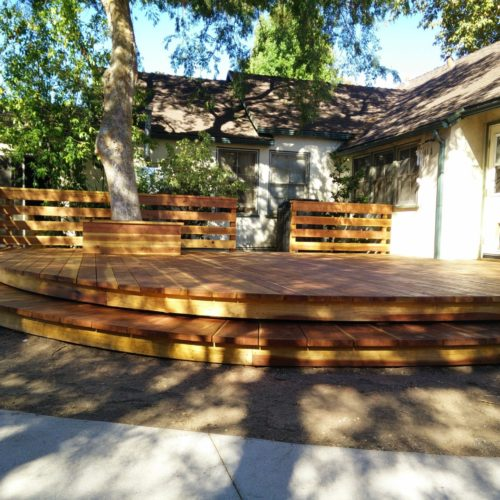 Redwood Deck, Altadena