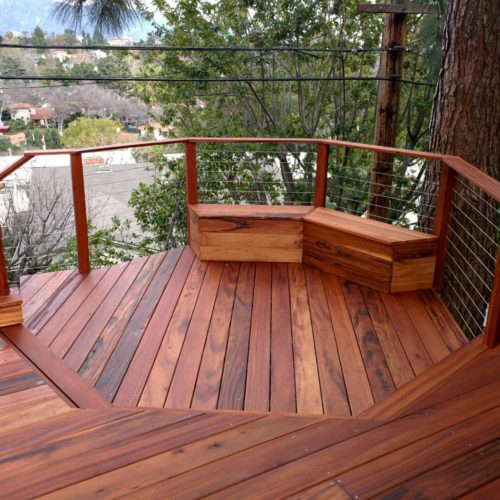 Tigerwood Deck, Pasadena